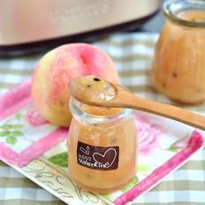 百香蜜桃果酱的做法