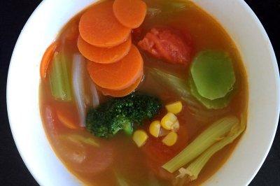 瘦身杂蔬汤怎么做好吃?瘦身杂蔬汤的家常做法