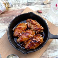 蒜香果酱煎鸡翅丘比果酱的做法