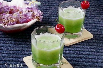 苦瓜汁怎么做好吃?苦瓜汁的家常做法