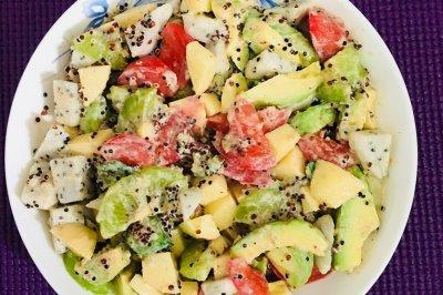 藜麦果蔬沙拉怎么做好吃?藜麦果蔬沙拉的家常做法