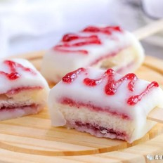 蓝莓山药仿真雪糕  宝宝辅食食谱的做法