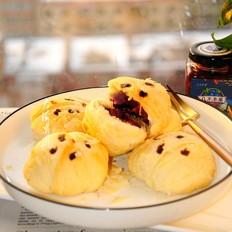 蓝莓果酱小酥饼的做法