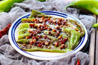 虎皮青椒怎么做好吃?虎皮青椒的家常做法