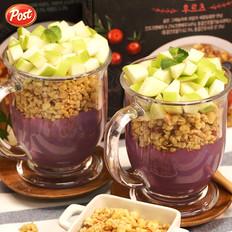 紫薯苹果奶昔的做法