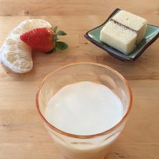 柚子奶昔的做法
