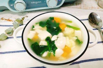 菠菜豆腐汤怎么做好吃?菠菜豆腐汤的家常做法