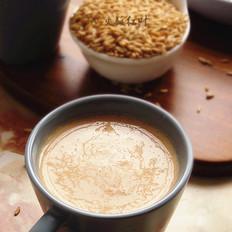 燕麦山楂奶昔的做法