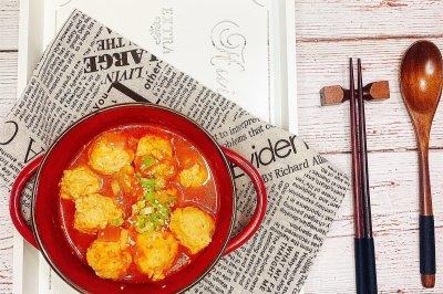 番茄鸡肉丸子怎么做好吃?番茄鸡肉丸子的家常做法