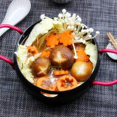 麻辣素菜锅的做法