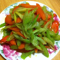 清炒素菜的做法
