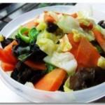 杂烩素菜的做法