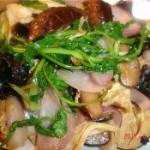 蚝油炒素菜的做法