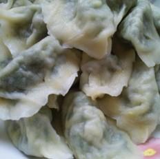 韭菜素饺子的做法