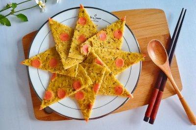 虾皮火腿饼怎么做好吃?虾皮火腿饼的家常做法