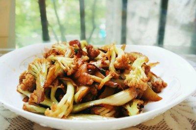干锅花菜怎么做好吃?干锅花菜的家常做法