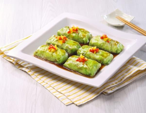 南瓜肉碎椰菜包怎幺做?南瓜肉碎椰菜包的做法