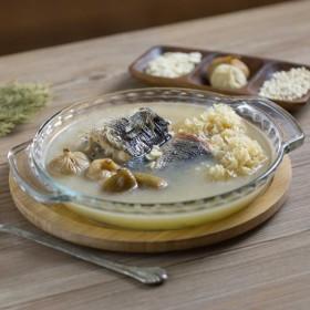 南北杏川贝生鱼汤的做法