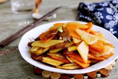 胡萝卜烧土豆怎么做好吃?胡萝卜烧土豆的家常做法