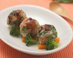 幼儿期美食菠菜土豆肉丸怎么做图解?菠菜土豆肉丸的做法