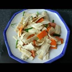 香炒豆干 精简早晚餐的家常做法