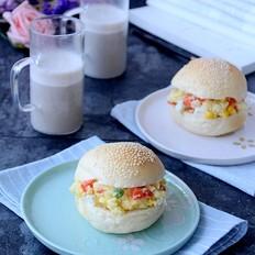 土豆沙拉汉堡的家常做法