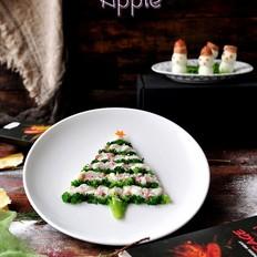 趣味圣诞树雪人餐的家常做法