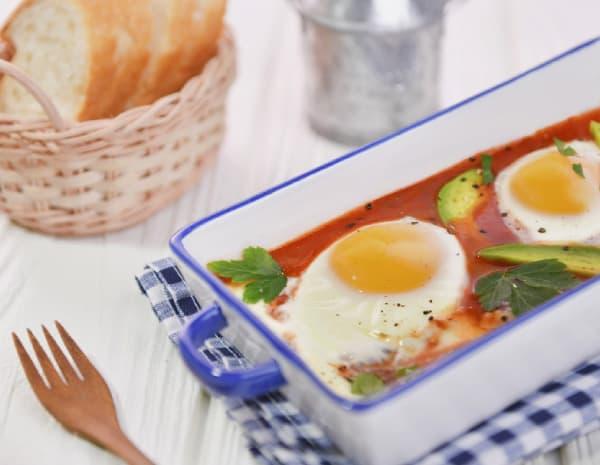 番茄牛油果焗蛋怎幺做?番茄牛油果焗蛋的做法