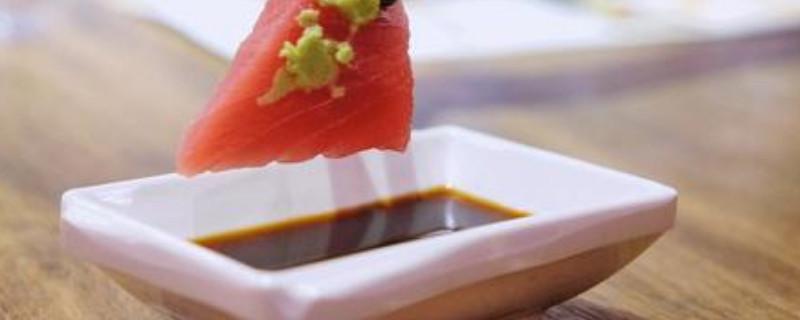 吃生鱼片的蘸料怎么调