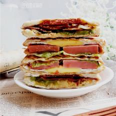 快手三明治的家常做法