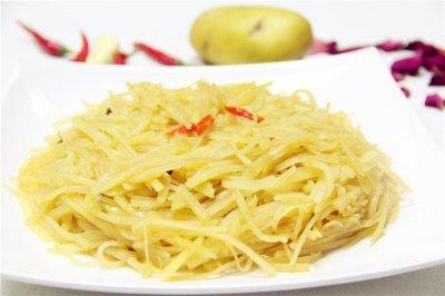 酸溜土豆丝怎么做好吃?酸溜土豆丝的家常做法