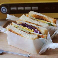 美味早餐三明治的家常做法