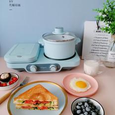 三明治早餐的家常做法