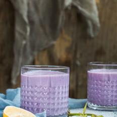 梦幻紫薯早餐奶的家常做法
