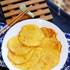 胡萝卜鸡蛋早餐饼的家常做法
