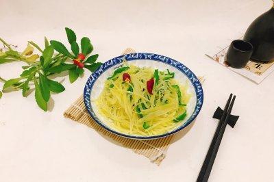 青椒土豆丝怎么做好吃?青椒土豆丝的家常做法