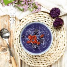 紫薯粥的家常做法