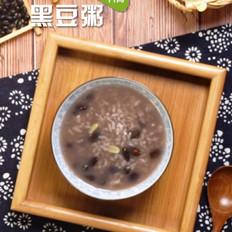 黑豆粥的家常做法
