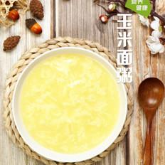 玉米面粥的家常做法