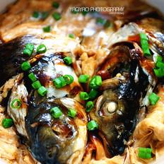 鱼头腐竹煲的家常做法
