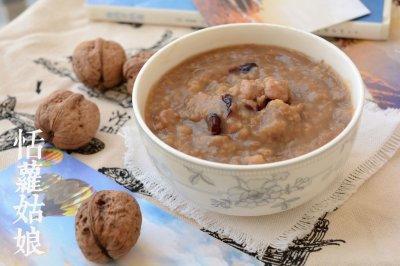 核桃分心木粥怎么做好吃?核桃分心木粥的家常做法