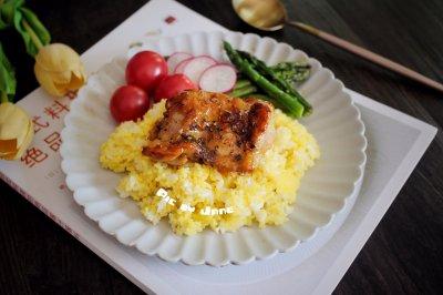 蜜汁鸡扒小米饭怎么做好吃?蜜汁鸡扒小米饭的家常做法