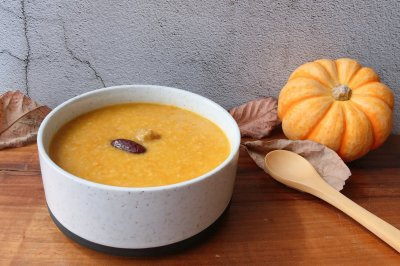 小米南瓜板栗甘薯粥怎么做好吃?小米南瓜板栗甘薯粥的家常做法