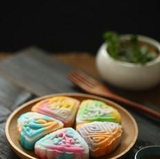 梦幻冰皮月饼的家常做法
