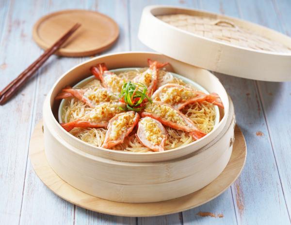 金银蒜粉丝蒸虾怎幺做?金银蒜粉丝蒸虾的做法