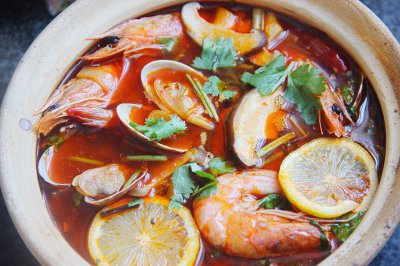 酸辣虾汤怎么做好吃?酸辣虾汤的家常做法