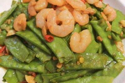 荷兰豆炒虾仁怎么做好吃?荷兰豆炒虾仁的家常做法