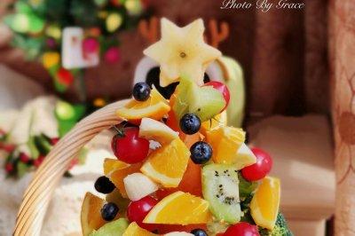 水果圣诞树怎么做好吃?水果圣诞树的家常做法