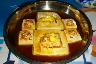 虾仁酿豆腐怎么做好吃?虾仁酿豆腐的家常做法视频
