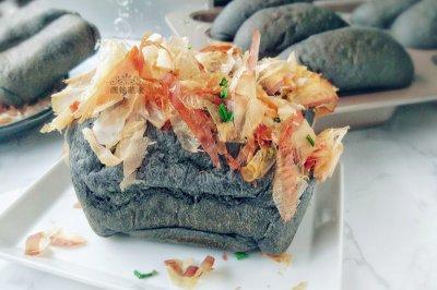 柴鱼竹炭包怎么做好吃?柴鱼竹炭包的家常做法